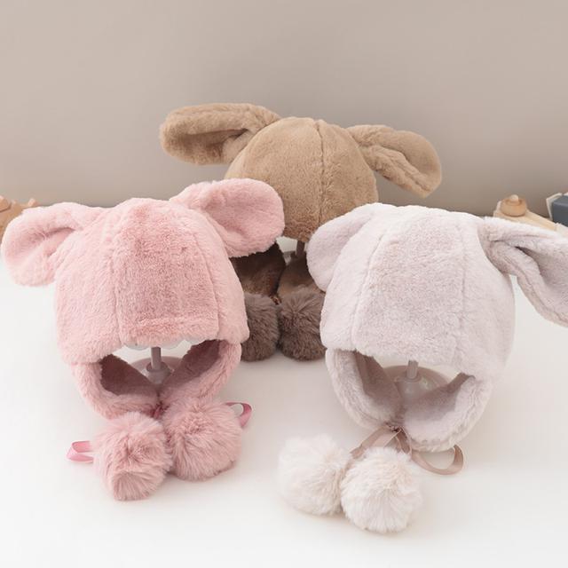 預購女寶寶護耳帽子冬天兒童可愛(貝)