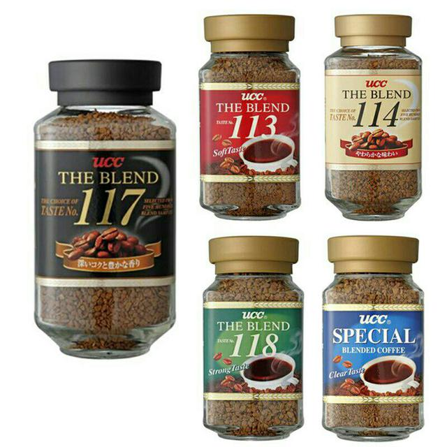 日本UCC即溶咖啡 117 113 114 118 666 咖啡首選 原裝進口 罐裝