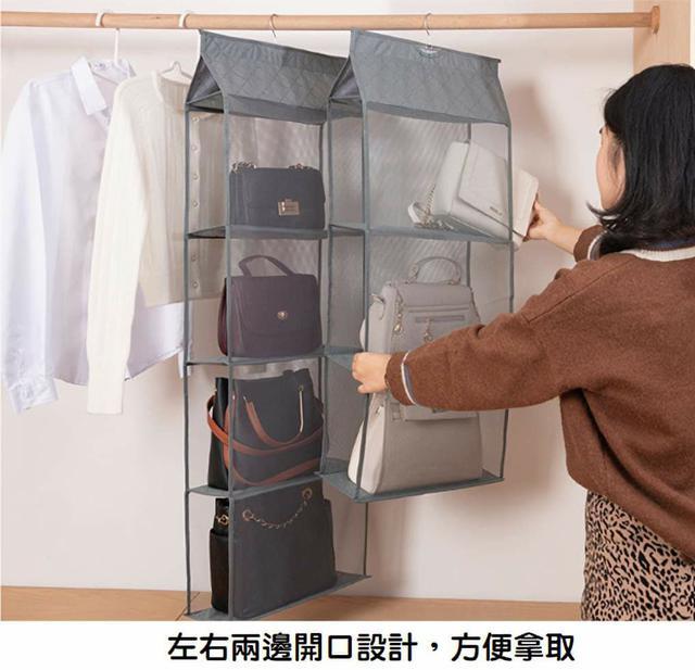 (預購s+) 收納神器~包包三層防塵收納掛袋