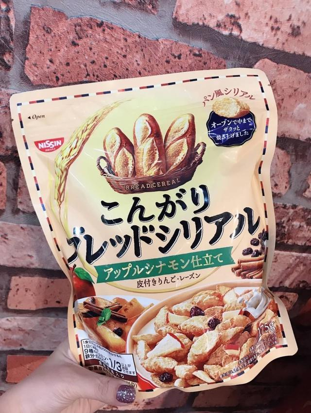 日本日清肉桂蘋果吐司脆餅175g