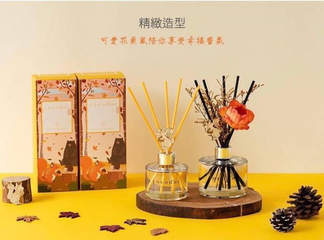 韓國Cocodor 限定版!花栗鼠擴香瓶香氛🌷花栗鼠造型+花束+松鼠木高階版擴香