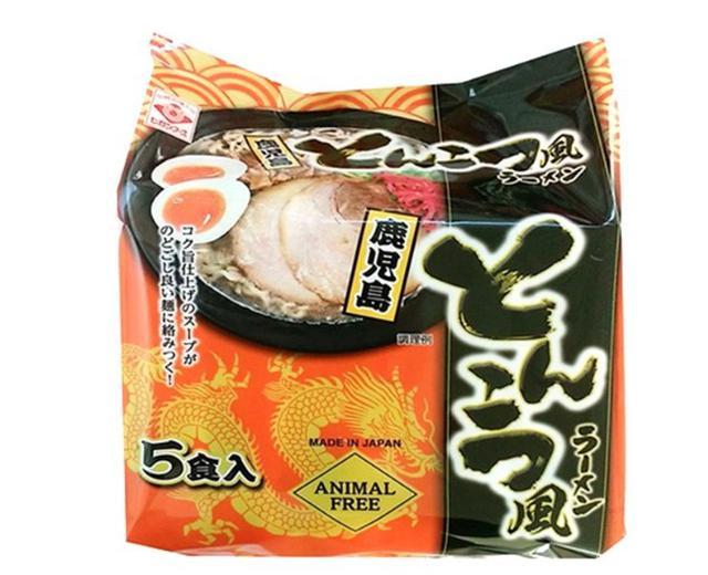 【預購】鹿兒島豚骨風味拉麵 東丸 泡麵 5包入