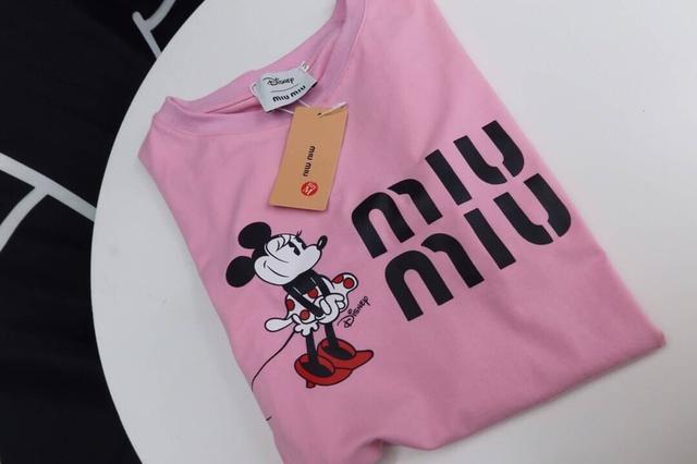 繆繆新款新品米老鼠T恤原標原吊牌 好質量