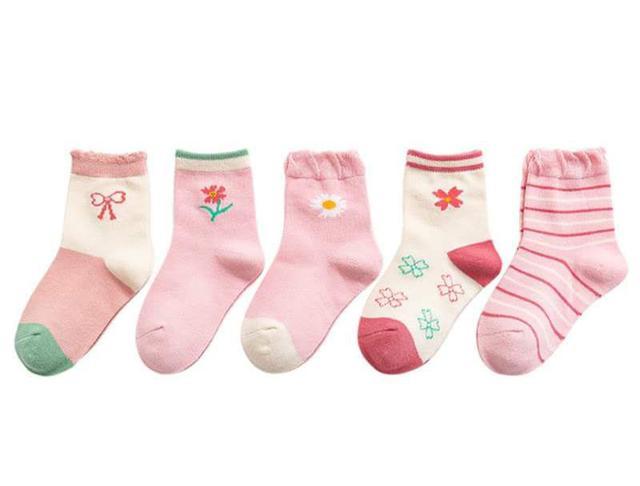 【預購】女童襪子組(5入)