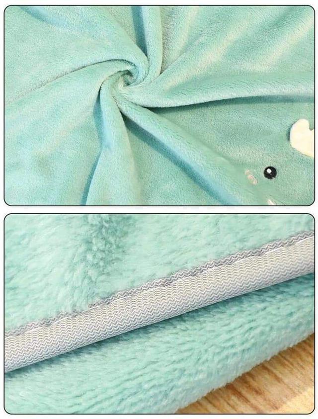 (預購S) 超可愛法蘭絨便攜摺疊毛毯