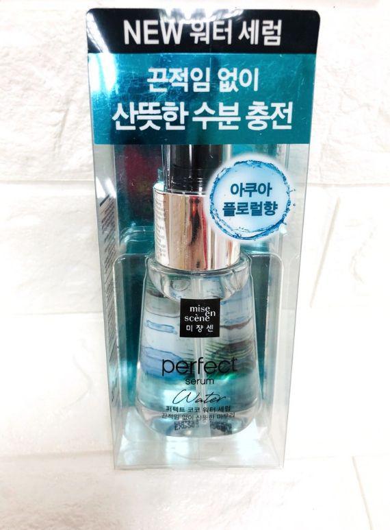 韓國 Mise en scene完美補水精華護髮油70ml