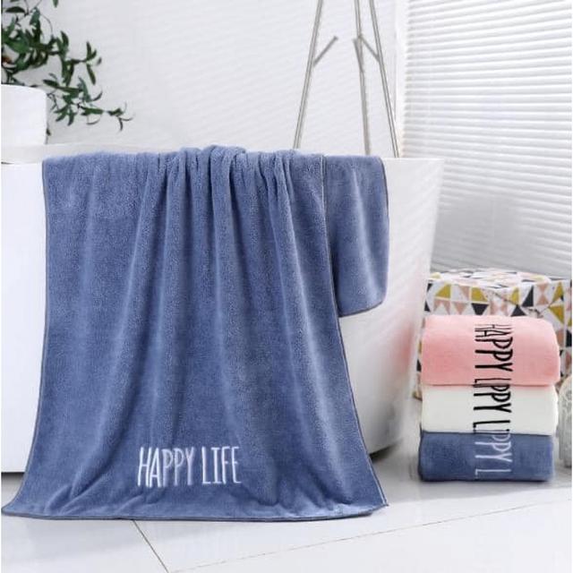 #預購B087 - 大條浴巾高密度珊瑚絨細柔親膚浴巾