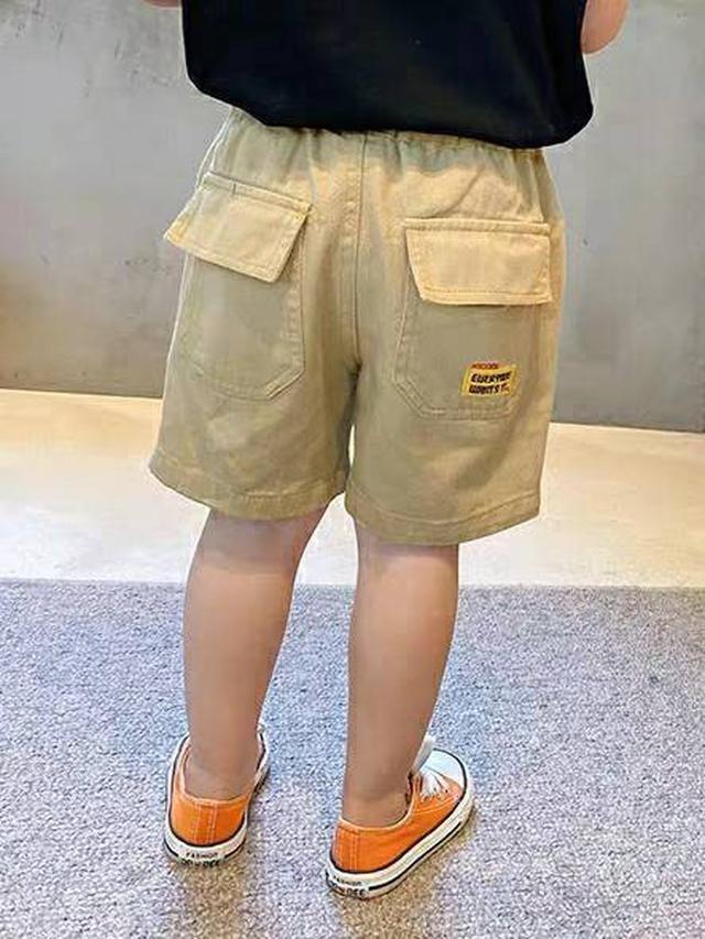 橘標工裝褲
