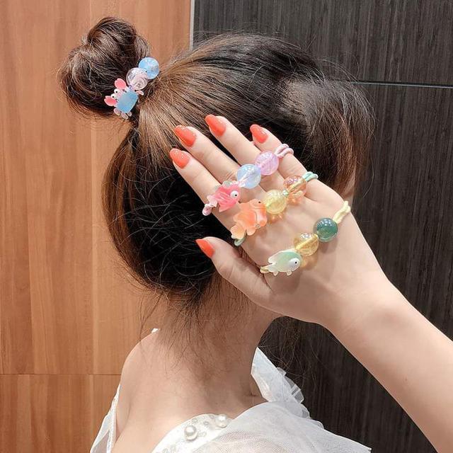 【預購】兒童海洋透明髮圈