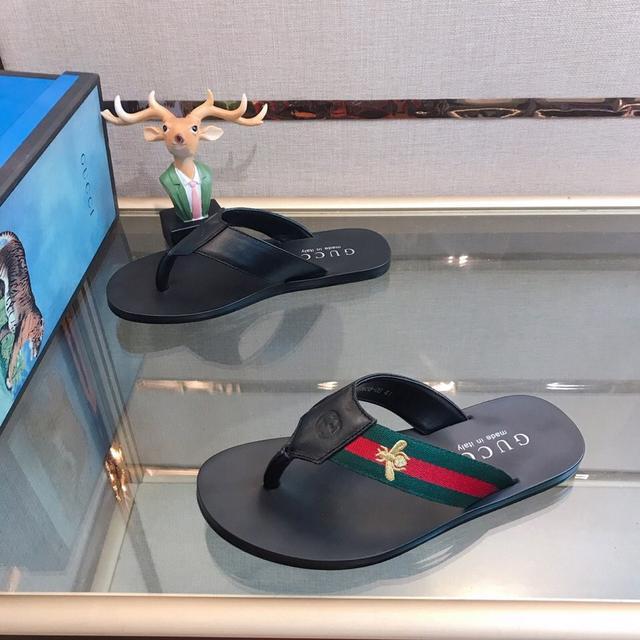 GUCCI.古奇  拖鞋系列:男鞋高端品牌 官網1:1最新力作:原版開模定制,,更輕便,防滑