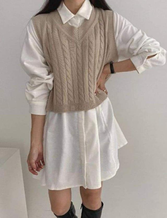 【預購🇰🇷韓國】針織套裝裙2件組