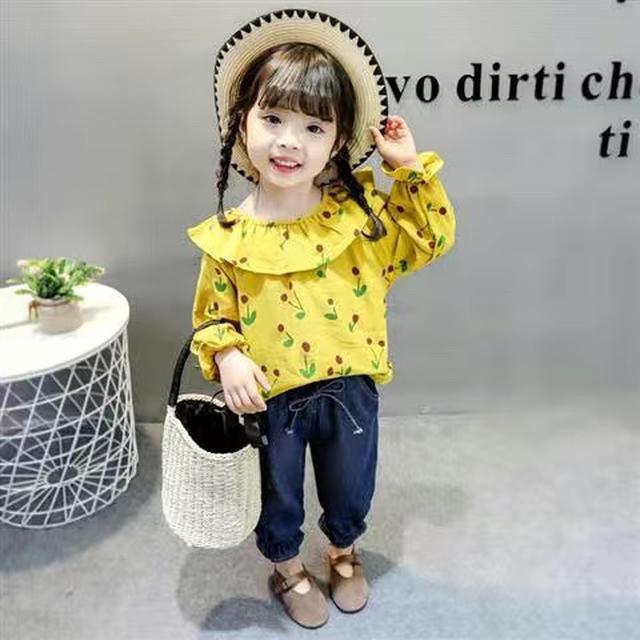 童裝女童春秋款套裝2020新款兒童小童洋氣春秋款時髦網紅