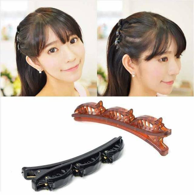 (預購S) H096 - 日本雙層盤髮髮夾(一組5個)