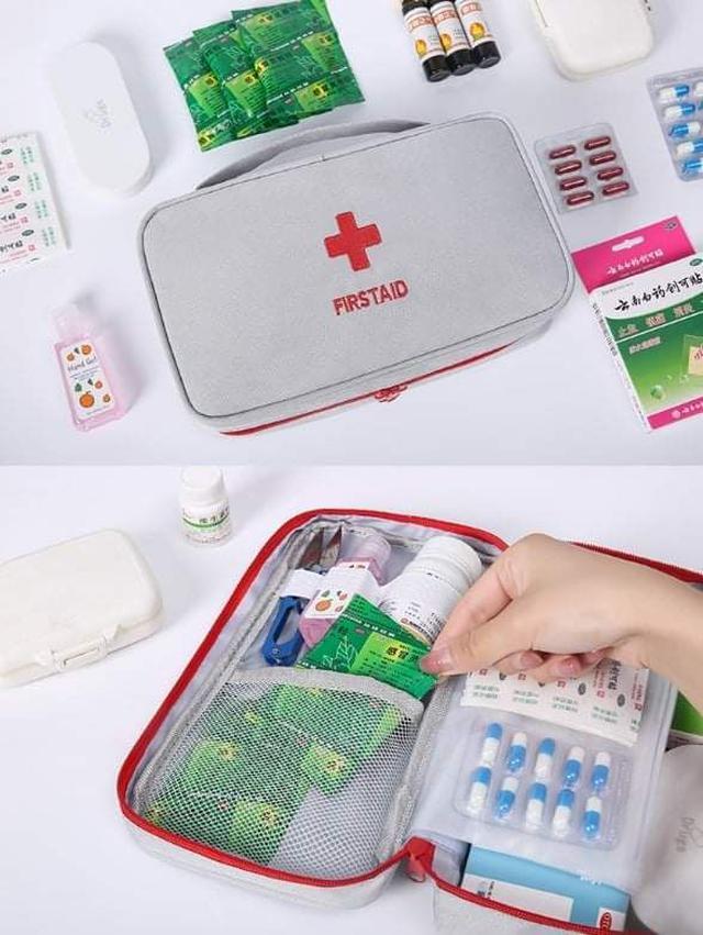 (預購S) P186 - 家用戶外醫藥品收納包