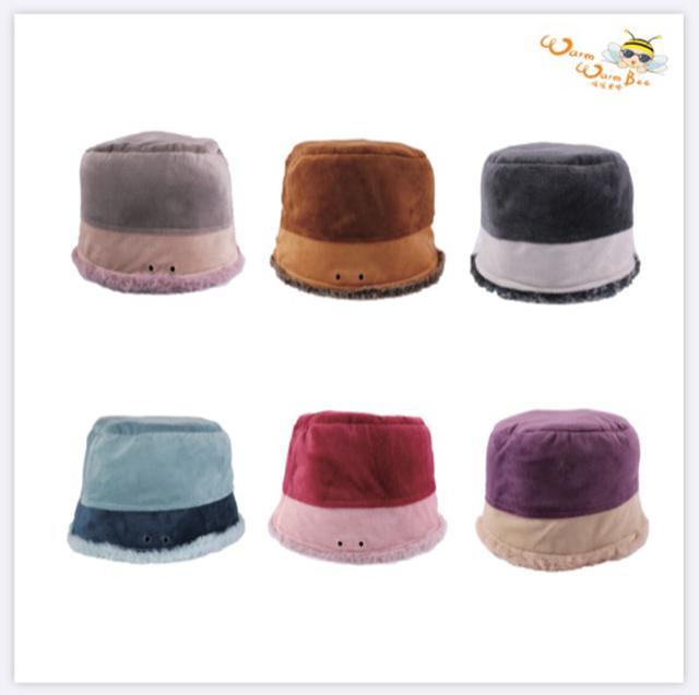 保暖絨毛漁夫帽