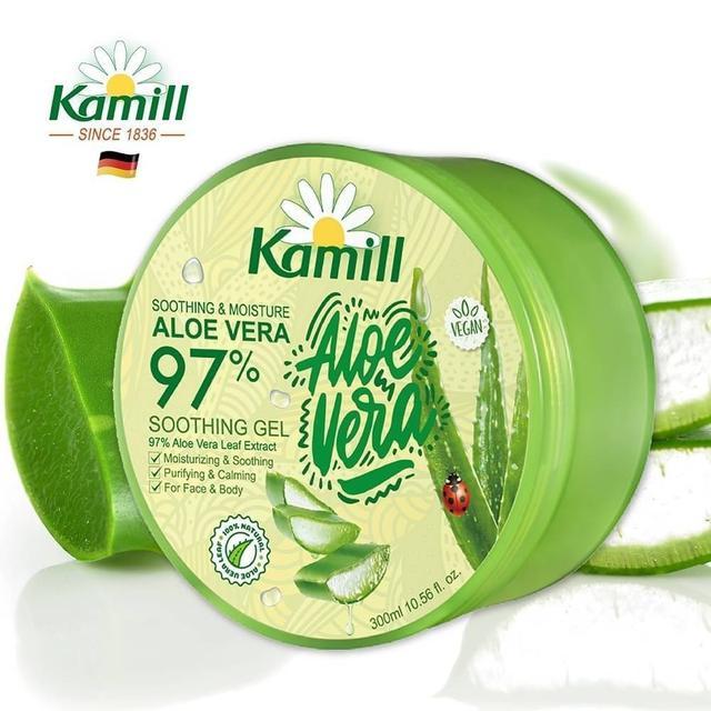 德國卡蜜兒 Kamill 97%蘆薈補水修護保濕凝膠