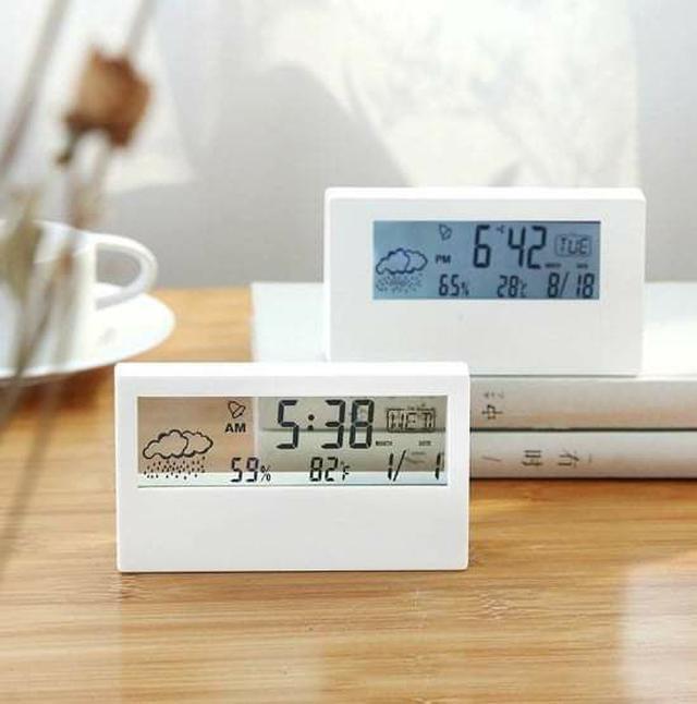(預購S) G690 - 日式多功能電子靜音萬年曆鬧時鐘