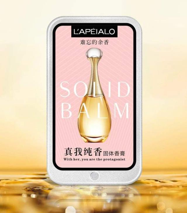 女士隨身固體香水香膏三入組(預購)