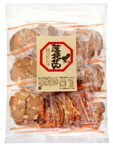 日本柏木堂落花生煎餅36枚