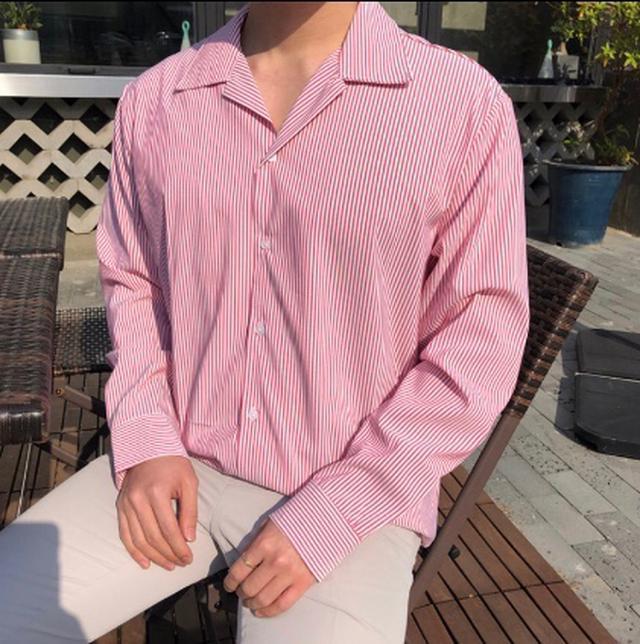 🇰🇷韓國清平和💕男生米蘭襯衫