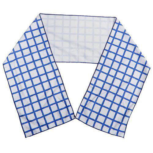 方格 涼感巾 毛巾