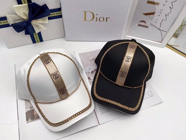 帽子類  💛【Gucci】專櫃新款,潮人男女款!超高品質!