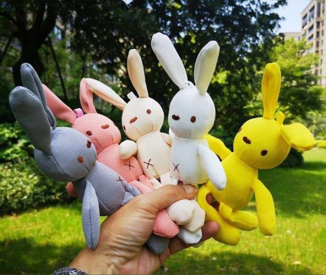 (預購S) H090 - 韓國許願兔娃娃吊飾