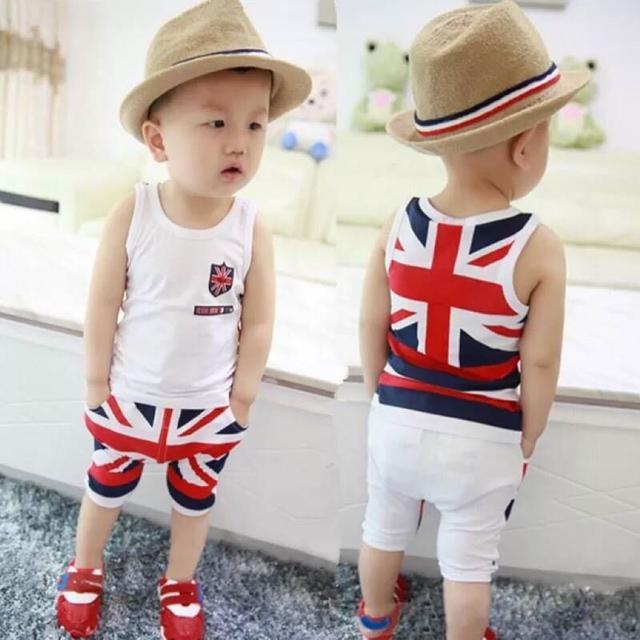 男童短袖套装2019新款夏季儿童装0宝宝夏装衣服2婴儿1-3岁韩版潮