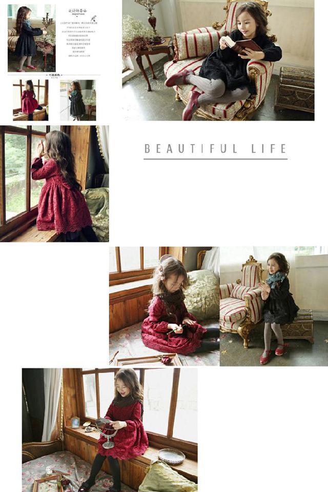 專屬兒童🆕️小公主2️⃣0️⃣1️⃣9️⃣時尚蕾絲裙裝