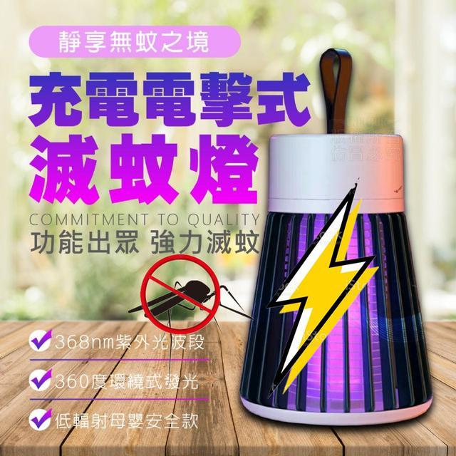 充電電擊式滅蚊燈