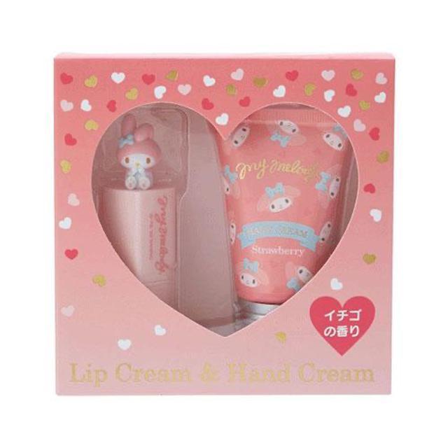 日本🇯🇵三麗鷗美樂蒂護手護唇禮盒