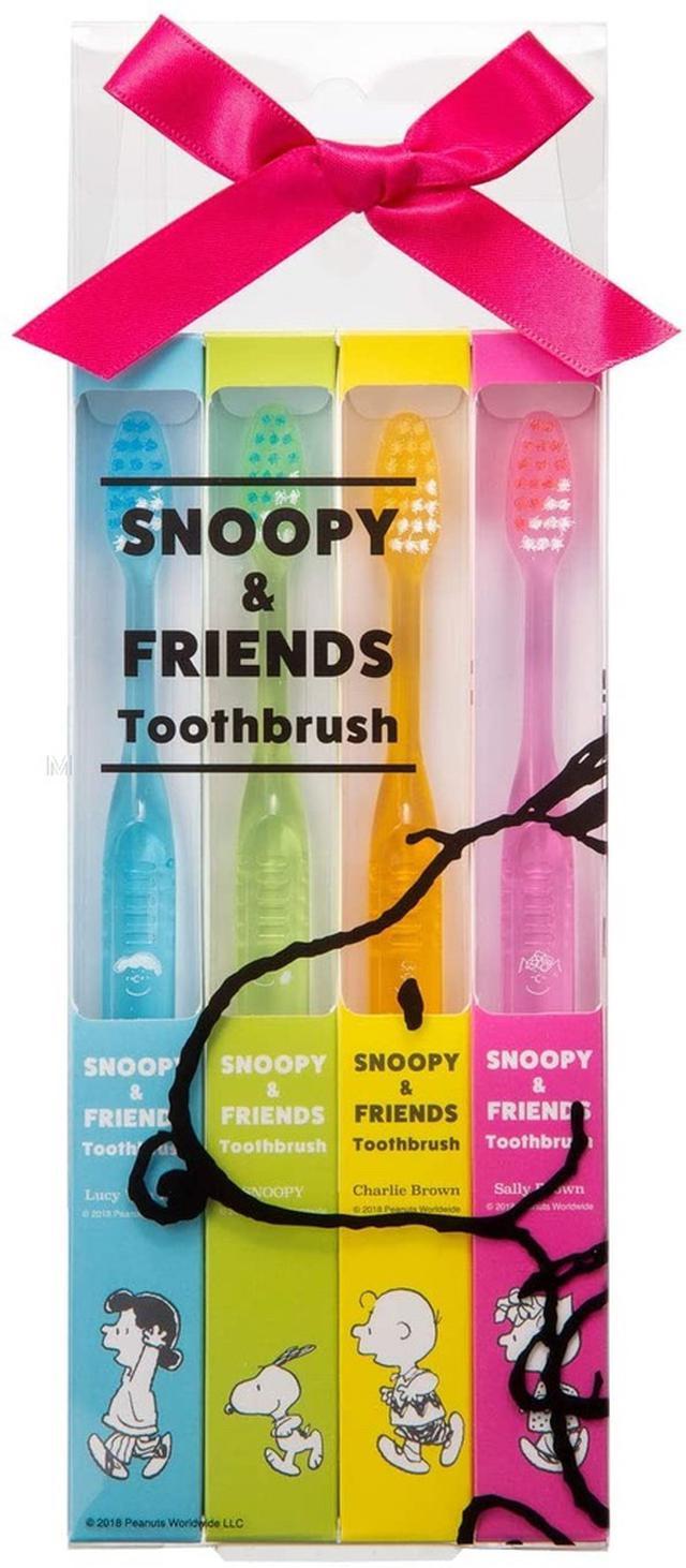 日本🇯🇵史努比限量牙刷禮盒4件
