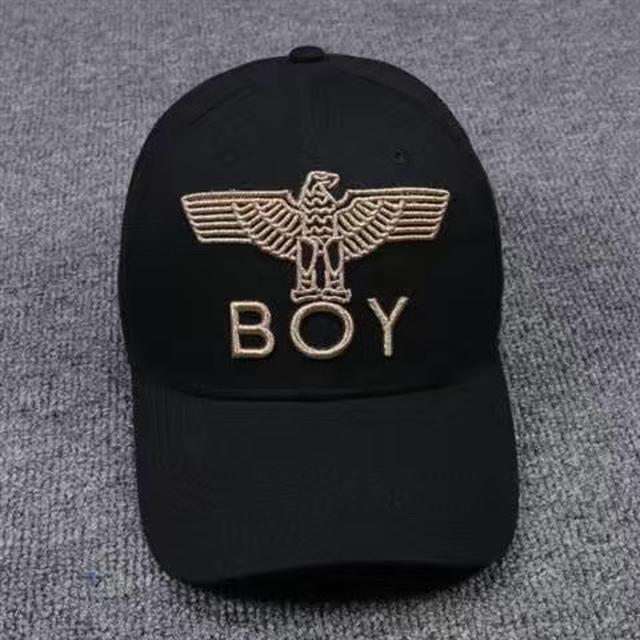 新款Boy帽子女夏季防曬網紅棒球帽老鷹刺繡情侶款男