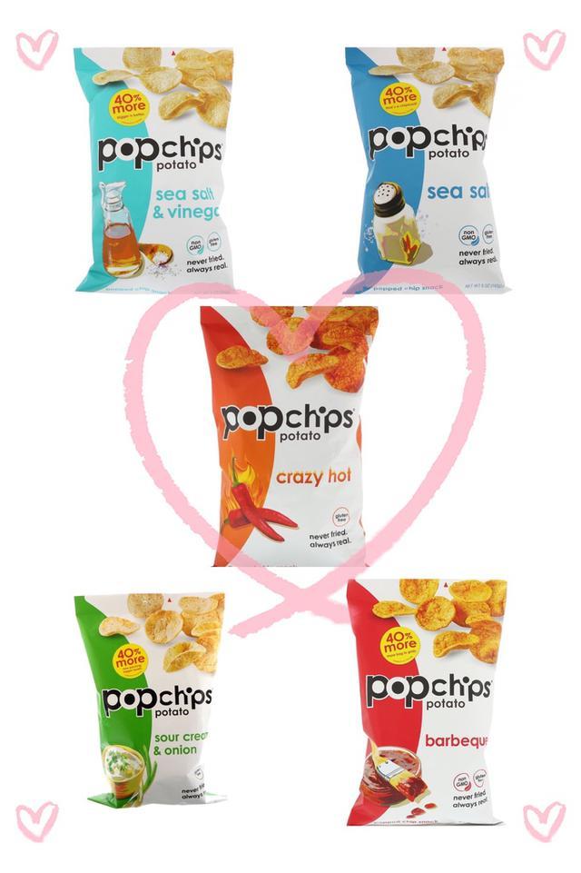 🇺🇸美國 Popchips低卡低脂洋芋片