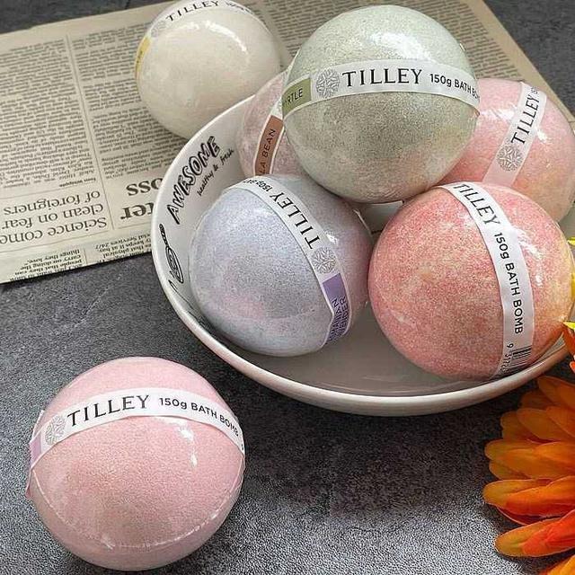 澳洲 Tilley 百年特莉 經典香氛泡澡球 130g 兩顆