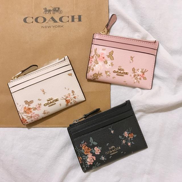 [現貨]Coach防刮零錢包 卡片夾 鑰匙圈