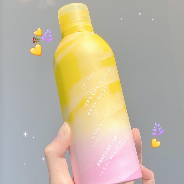 冰淇淋泡泡慕斯沐浴乳