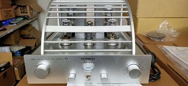 KOTOBUKI. T1真空管二聲道擴大機 全新品 只有2台有喜歡要快了
