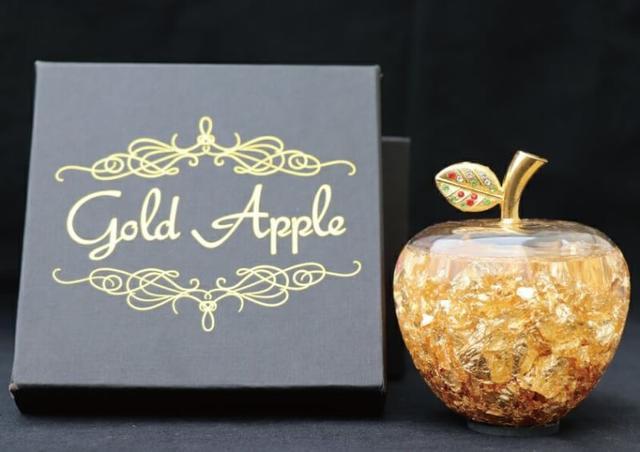 日本 🇯🇵 金箔精油蘋果