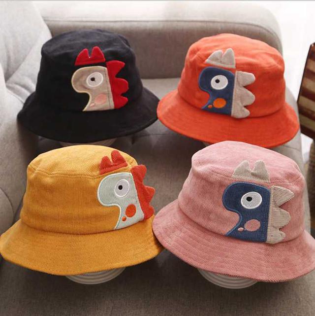 [雜貨店]2入-兒童燈芯絨漁夫帽