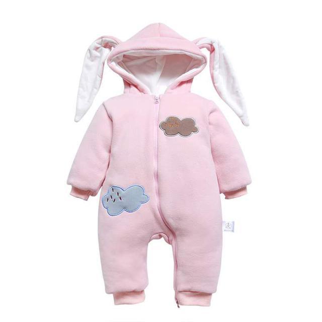 【預購】寶寶優質純棉兔裝(厚款)
