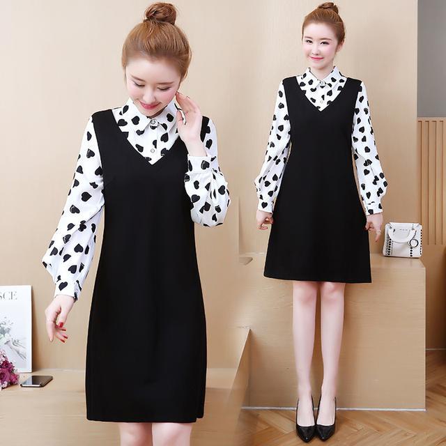 10 XL-5XL 大碼女裝洋氣連衣裙