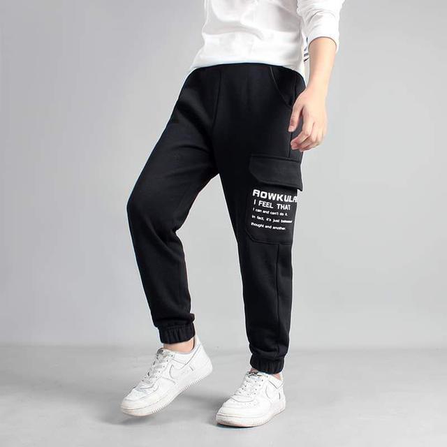 【預購】男童純棉運動褲