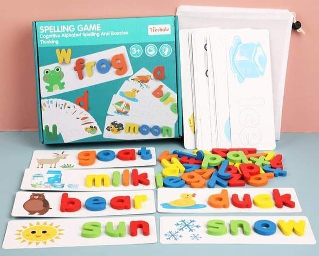 【預購】兒童英文字母認知玩具