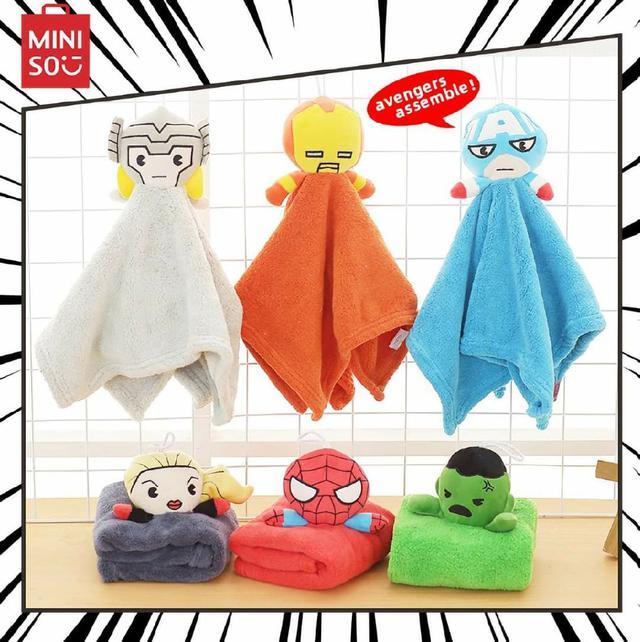 (預購s+) 超萌英雄造型擦手巾