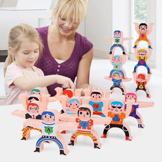 大力士平衡疊疊樂玩具(盒裝)