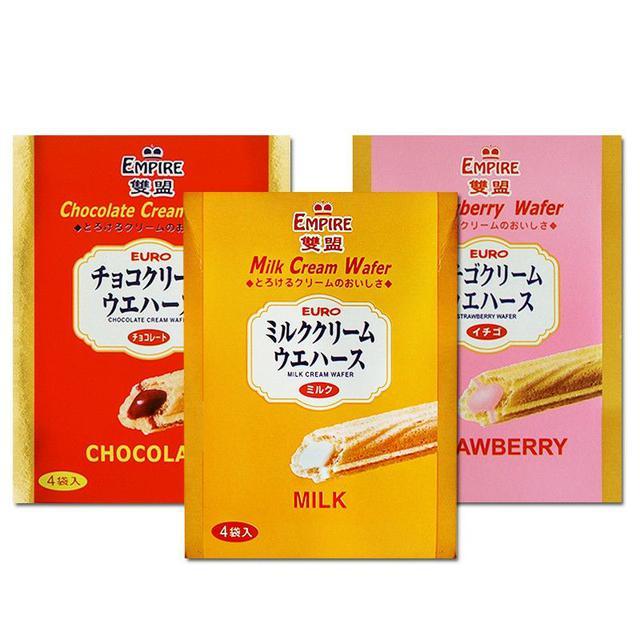 雙盟酥棒 牛奶/草莓/巧克力