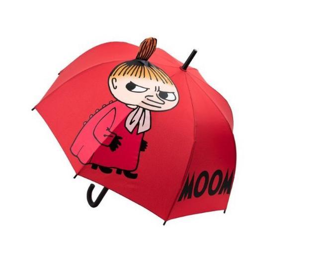 寶 MOOMIN嚕嚕米幸運紅蘑菇傘