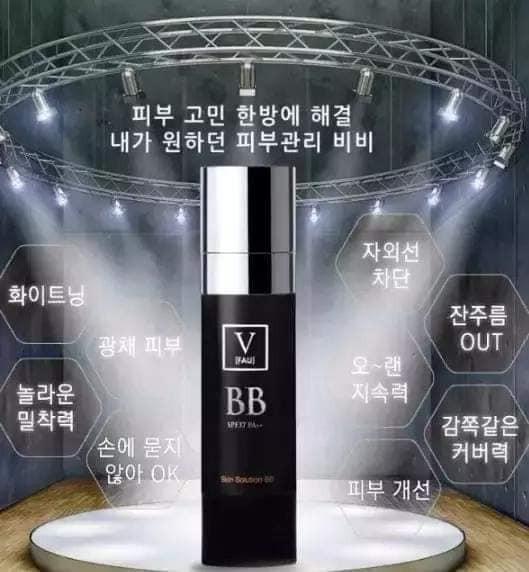 預購~韓國 FAU萬用再生三合一BB霜 SPF37/PA+++ 30g(小黑管)