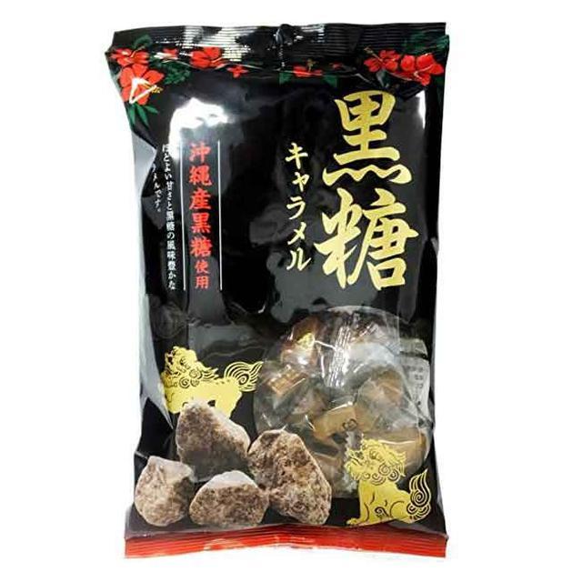日本沖繩黑糖牛奶糖300g
